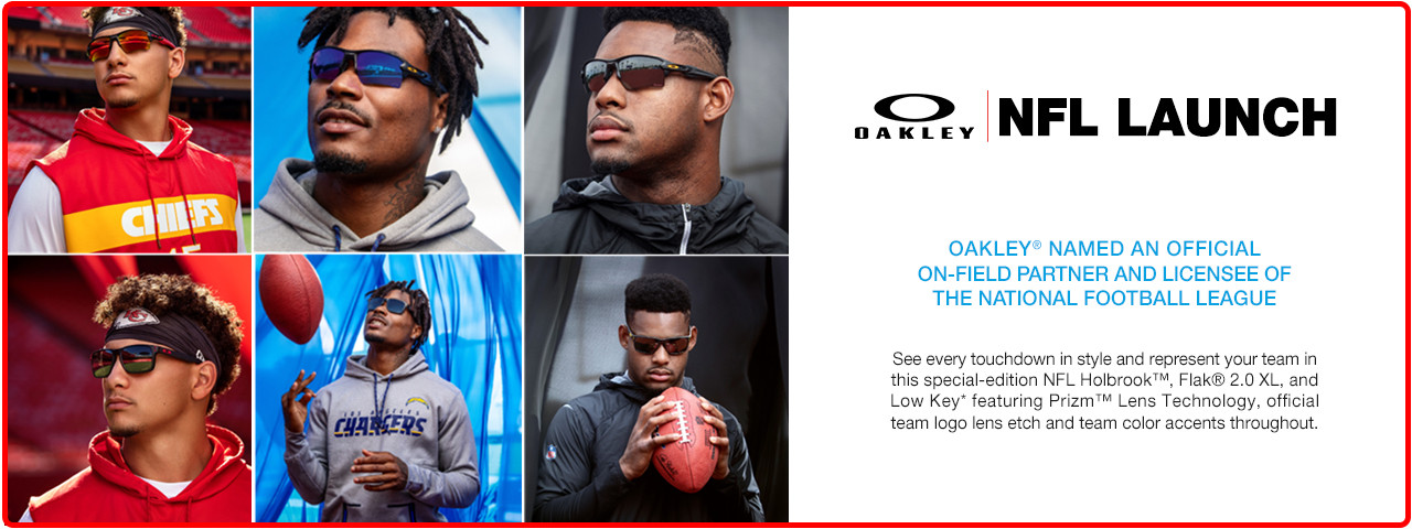 Oakely-NFL-Launch-Slideshow